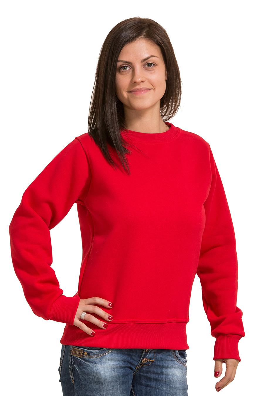 0408c4d388de Красный женский свитшот купить в Москве и Санкт-Петербурге в ...