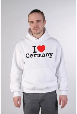 Толстовка, свитшот, футболка I Love Germany