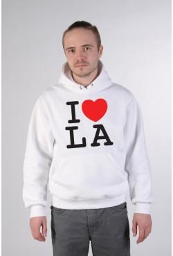 Толстовка, свитшот, футболка I Love LA