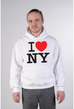 Толстовка, свитшот, футболка I Love NY