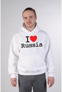 Толстовка, свитшот, футболка I Love Russia