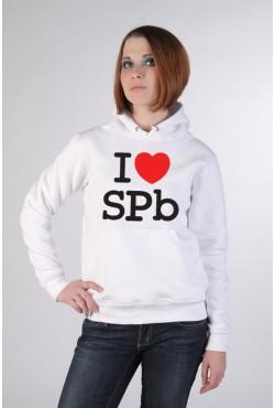 Толстовка, свитшот, футболка I Love SPb