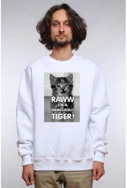 Толстовка Dangerous Tiger, свитшот Dangerous Tiger, футболка Dangerous Tiger