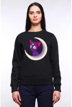 Толстовка с Luna, свитшот с Luna, футболка с Luna