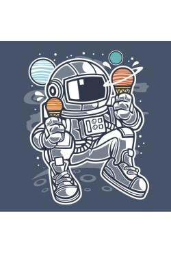 Толстовка с Космонавтом, свитшот с Космонавтом, футболка с Космонавтом