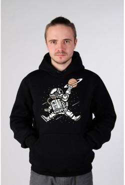 Толстовка, свитшот, футболка с рисунком космонавта Space Jump