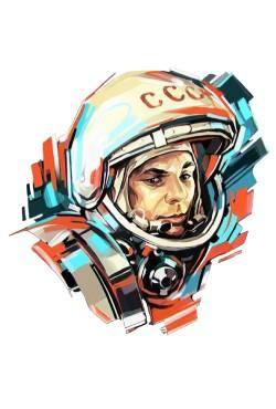 Толстовка Гагарин, свитшот Гагарин, футболка Гагарин