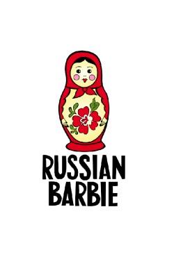 Толстовка, свитшот, футболка Russian Barbie (матрешка)