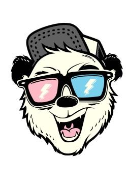 Толстовка Медведь в очках, свитшот Медведь в очках, футболка Медведь в очках