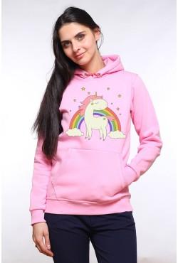 Толстовка с единорогом и радугой, свитшот с единорогом и радугой , футболка с единорогом и радугой