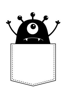 Толстовка Монстрик, свитшот Монстрик, футболка Монстрик (2)