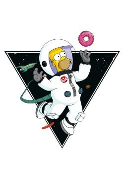 Толстовка Гомер в Космосе, свитшот Гомер в Космосе, футболка Гомер в Космосе