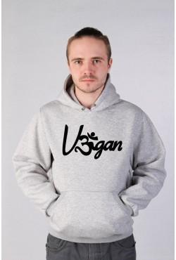 Толстовка, свитшот, футболка с надписью Vegan