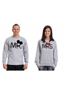 Свитшоты для двоих Mr и Mrs