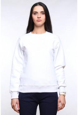 Женский белый свитшот 320гр/м2