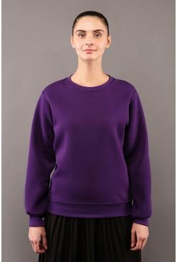 Женский свитшот фиолетовый 320гр/м2