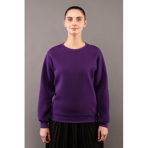 Женский фиолетовый свитшот летний 250гр/м2
