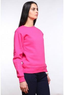 Женский малиновый (ярко-розовый) свитшот 320гр/м2