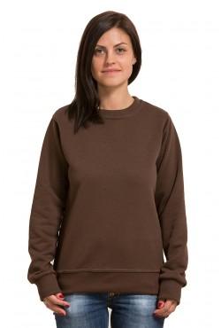 Женский коричневый свитшот 320гр/м2