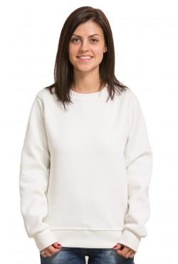 Женский молочный свитшот 320гр/м2