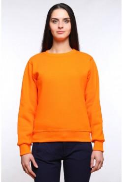 Женский оранжевый свитшот 320гр/м2