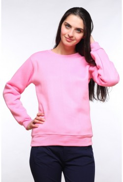Женский розовый свитшот 320гр/м2