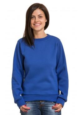 Женский ярко-синий свитшот 320гр/м2