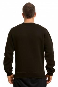 Мужской коричневый свитшот 320гр/м2