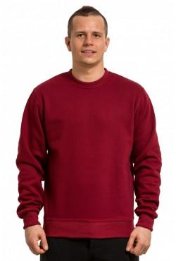 Свитшот бордовый мужской 320гр/м2