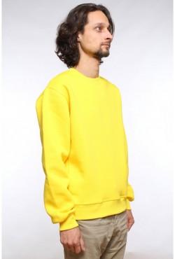 Мужской желтый свитшот 320гр/м2