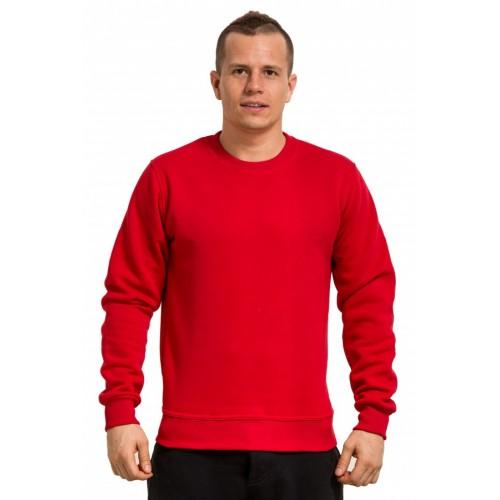 Мужской красный свитшот 320гр/м2