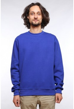 Мужской ярко-синий свитшот 320гр/м2
