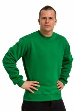 Мужской зеленый свитшот 320гр/м2