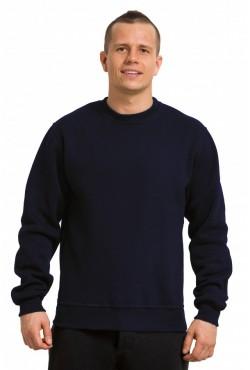 Мужской темно-синий свитшот 320гр/м2