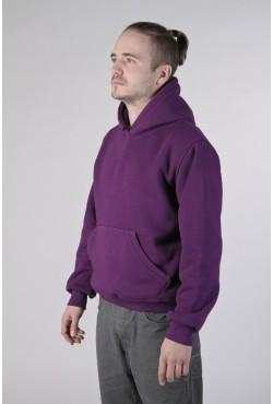 Violet Color Hoodie Man Classic Мужская фиолетовая толстовка худи классическая 320гр/м.кв