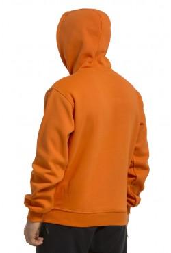 Orange Color Hoodie Man Classic Мужская оранжевая толстовка худи классическая 320гр/м.кв