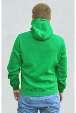 Мужская зеленая толстовка большого размера (XXXXL - 58, XXXXXL - 60)