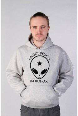 Свитшот с принтом Alien, футболка с принтом Alien, толстовка с принтом Alien