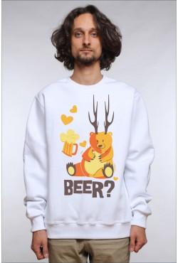Толстовка Beer, свитшот Beer, футболка Beer