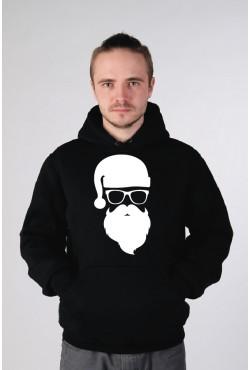 Новогодняя Толстовка, свитшот, футболка с Дедом Морозом (#002)