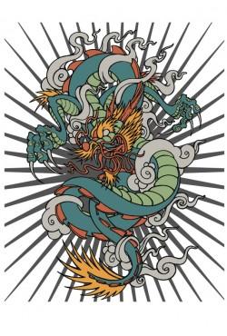 Толстовка Дракон, свитшот Дракон, футболка Дракон