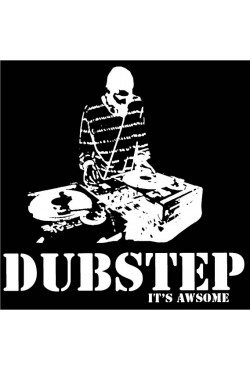Свитшот Dubstep is awesome, толстовка Dubstep is awesome, футболка Dubstep is awesome