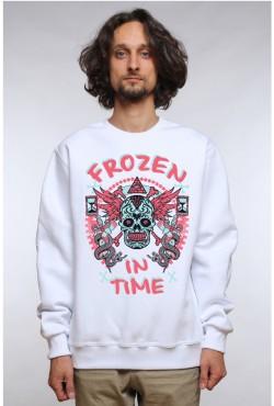Толстовка, свитшот, футболка Frozen in time