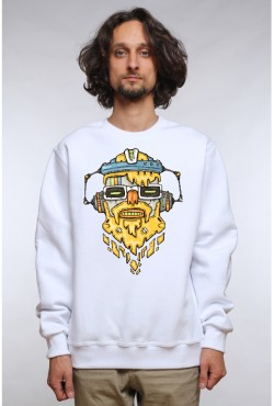 Толстовка, свитшот, футболка Кислотный DJ