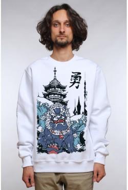 Свитшот с принтом Китайский Лев, футболка с принтом  Китайский Лев