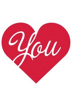 Cвитшот Love you, Толстовка Love you, футболка Love you