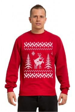 Толстовка, свитшот, футболка Похабные олени