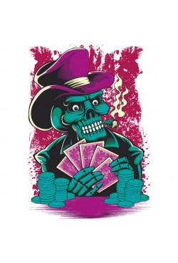 Толстовка, свитшот или футболка с принтом PokerMaster