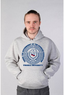 Толстовка с капюшоном Финансовый университет (25 цветов на выбор)