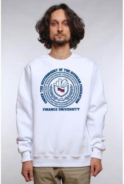Свитшот плотный Финансовый университет (25 цветов на выбор)
